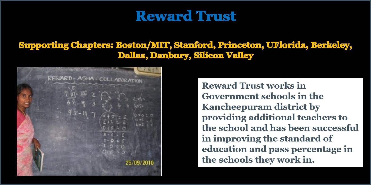 Reward Trust