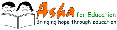 Asha for Education - a fully volunteer-run non-profit for Education of the underprivileged in India