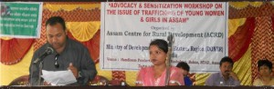 Advocacy program at ACRD, Assam